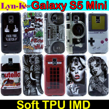 High Quality S5 mini Phone Case for Samsung Galaxy S5 Mini G800 Fashion Cute Pattern Design TPU Soft Back Cover Funda Coque Capa