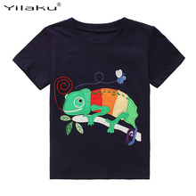 Buy 2017 New Brand Children T Shirt Cartoon Animal Clothes Baby Boys T-shirt Toddler Kids Summer Tees Tops Baby Clothing CG278 for $5.99 in AliExpress store