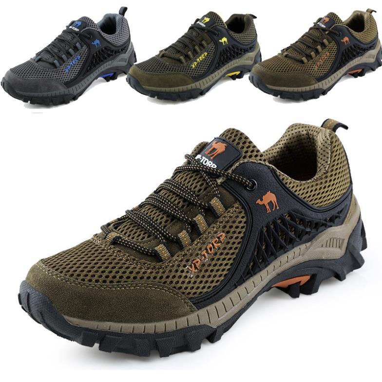 2015 Mens walking shoes waterproof breathable mountain climbing men outdoor sports trekking fishing camping shoe - jiajia Outdoor Co., Ltd. store