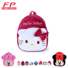 Children's Gifts Kindergarten Boy Backpack Plush Baby Children School Bags For Girls Teenagers Kid Plush Toy Bag mochila(China (Mainland))