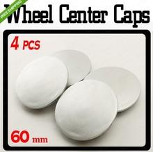 New 4 PCS 60mm Universal Wheel Center Hubs Caps(China (Mainland))