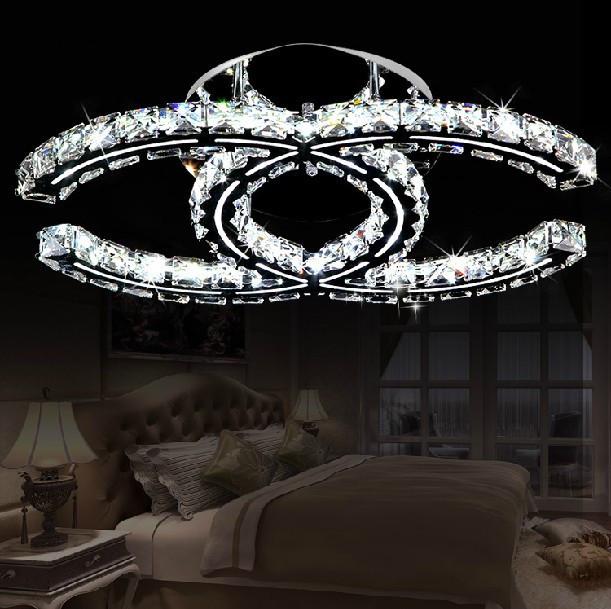 Hot sale design Led ceiling lights luster living room crystal lamp modern home lighting(China (Mainland))