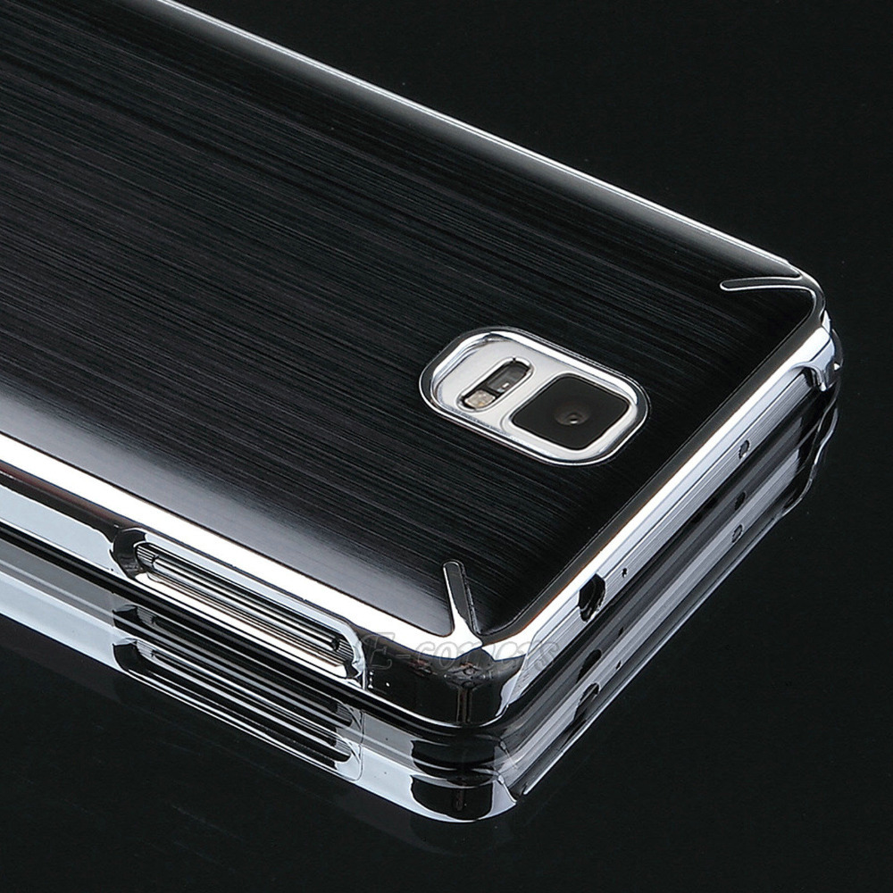 Ultra-thin Black Hard Aluminum Metal Case Cover For Samsung Galaxy Note 4 N9100(China (Mainland))