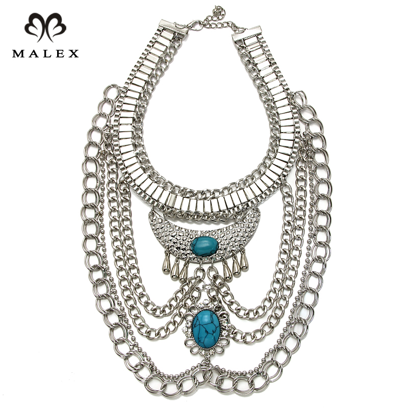 New big fashion exaggerated style multi ethnic women 39 s for Costume jewelry for evening gowns