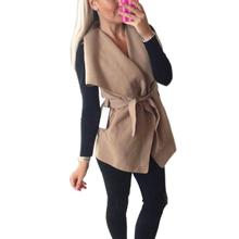 Женщины Осень Зима Куртки Расходы 2016 Женская Мода Жилет Куртка Без Рукавов Бинты Wasitcoat Женский Теплое Пальто И Пиджаки GV392(China (Mainland))
