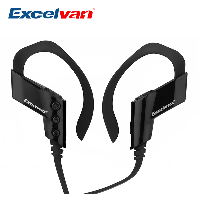 Excelvan S-501 Portable Wireless Bluetooth 4.0 Earphone HiFi Music Stereo Sweat Proof Earset For Smart Phone PC Laptop Tablet(China (Mainland))