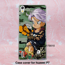 Trunks BAPE come shark bape girl design Cover Case huawei P9 P9Plus P8 P8life P7 P6 hard transparent case - Jomic store
