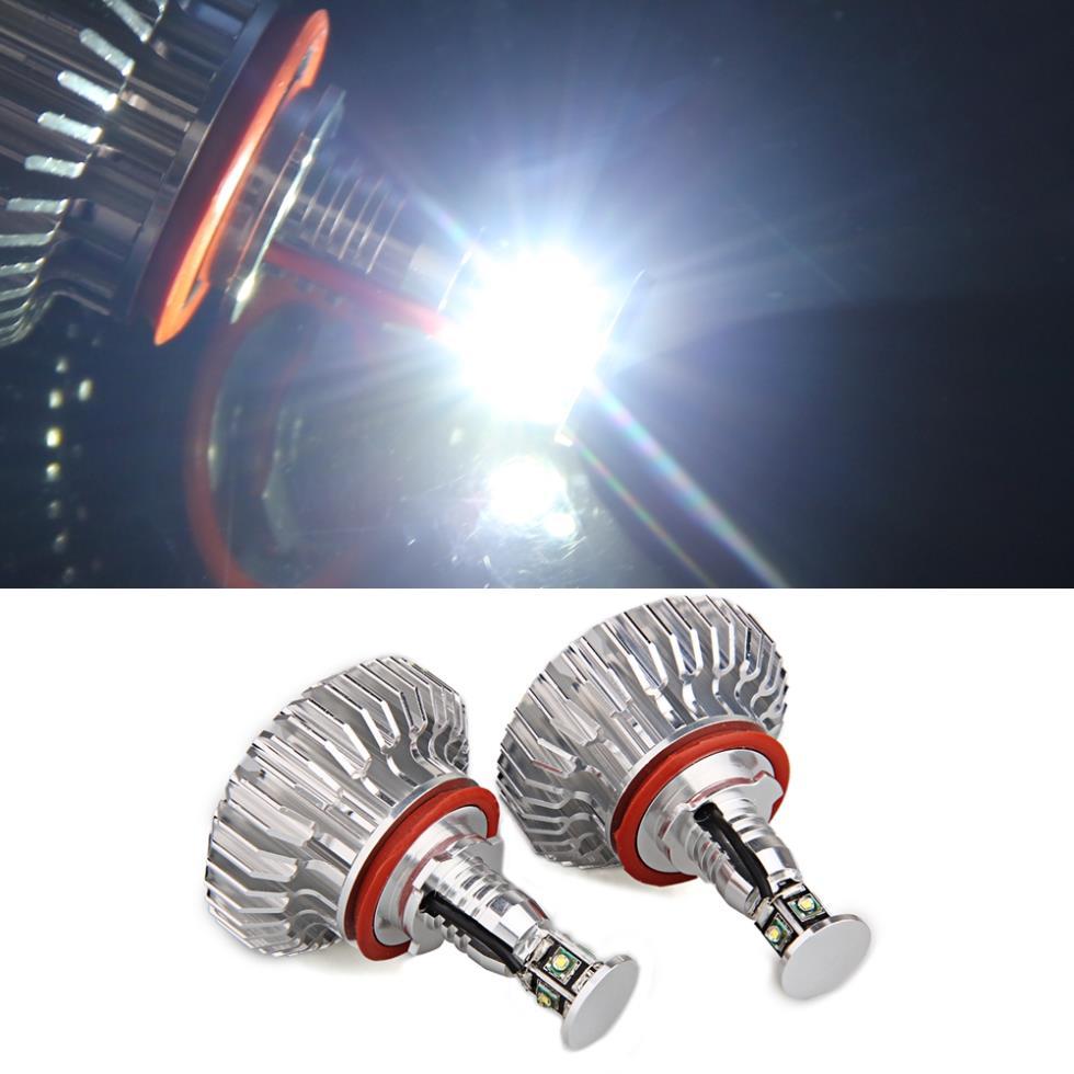 2 Sets H8 4 CREE R3 LED Angel Eyes Light Lamp for BMW E82 E87 E92