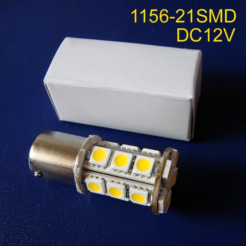 High quality 12V BA15s BAU15s PY21W P21W Auto led Tail lamp 1156 1056 1141 R5W Car 12V led Turn Signal free shipping 10pcs/lot(China (Mainland))