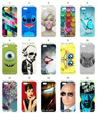 Mobile Phone Case Hot 1pc Skull Owl Ballon Hybrid Design Protective White Hard Case For IPHONE 5C Free Shipping