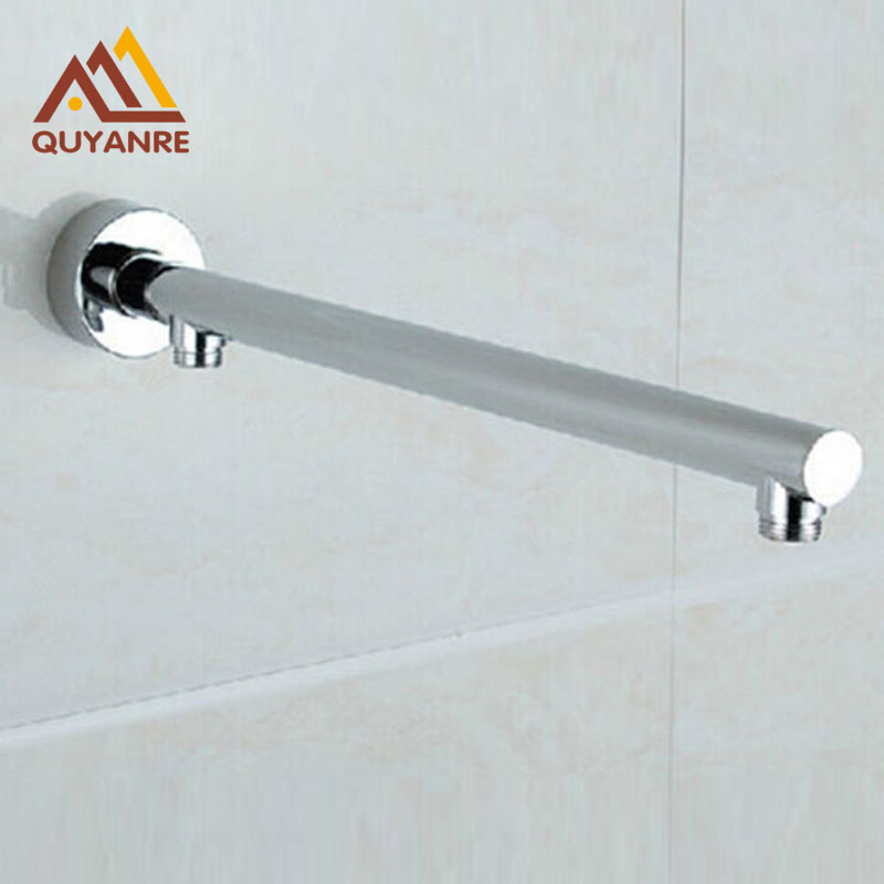Free Shipping Wall Mount Brass Shower Arm Bathroom Concealed Install Shower Holder Shower Head Bar(China (Mainland))