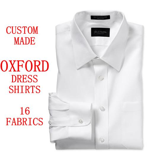 custom made oxford mens dress shirts french cuff bespoke