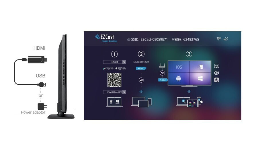 TV Stick Cast2TV V2 Miracast android tv stick Cast2TV V2 Miracast TV airplay DLNA hdmi Miracast mirrorOP iOS Android Windows Mac , Chromecast CBVA0366_0