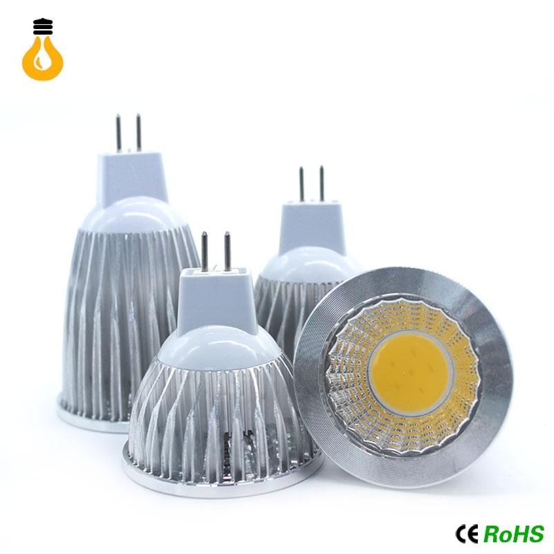 Super Bright E27 E14 GU10 MR16 Bulbs Light Dimmable Led Warm/White DC 12V AC85-265V 9W 12W 15W COB LED lamp light led Spotlight(China (Mainland))