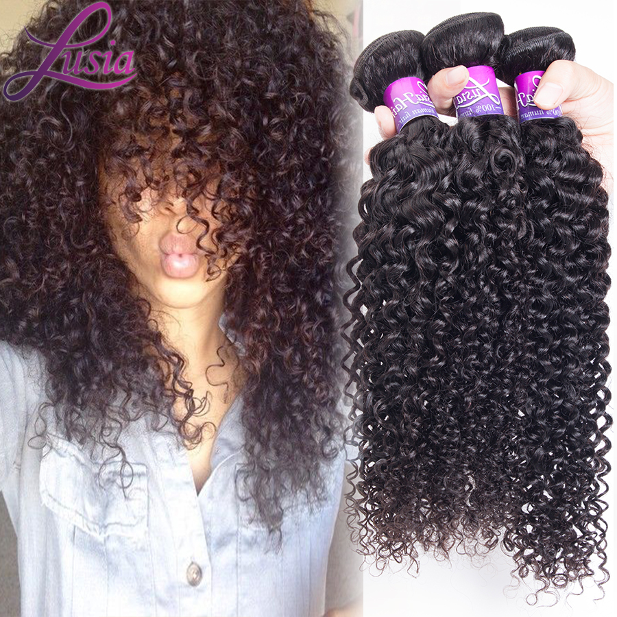 Unice 6a Brazilian Curly Virgin Hair 4pcs Lot Brazilian Virgin Curly Hair Italian Cheap Afro Kinky Curly Human Hair Bundles