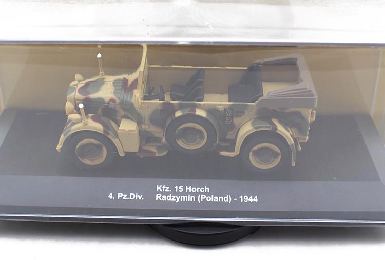 IXO / Altaya 1/43 kfz.15 Horch Horch World War II German armored military truck alloy FMM(China (Mainland))