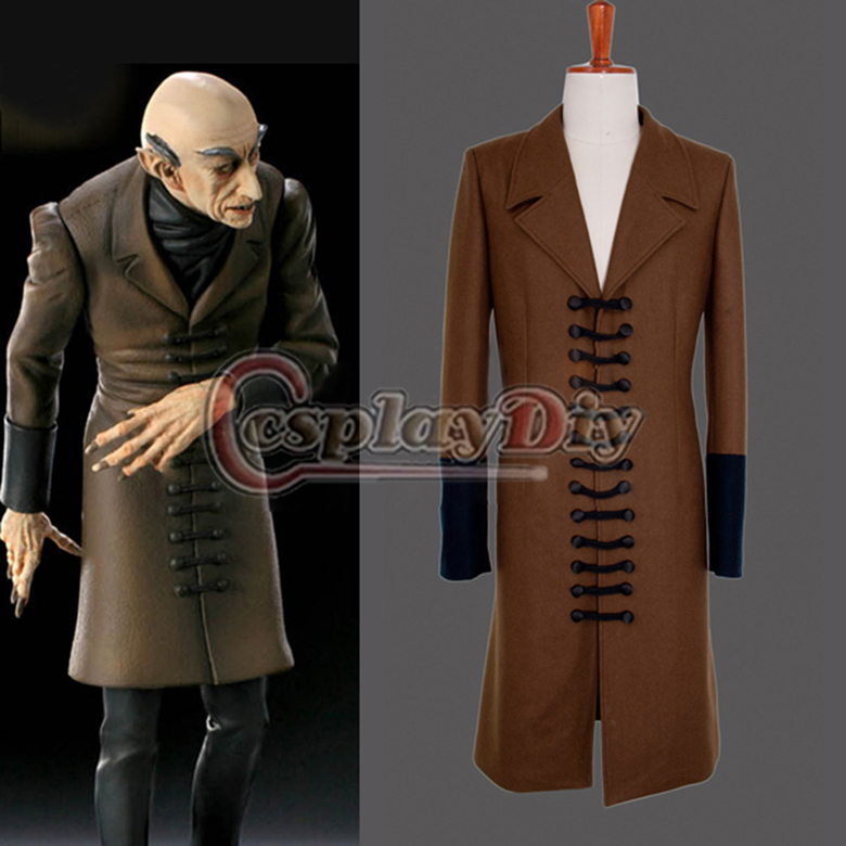 Free shipping Custom-made Movie Nosferatu Character Phantom der nacht-the Coat Movie Cosplay CostumeОдежда и ак�е��уары<br><br><br>Aliexpress