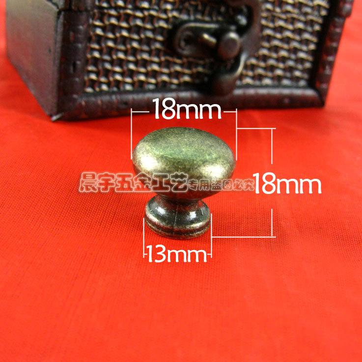 Ручка дверная 1 18*18mm esschert design дверная ручка молоток tt183