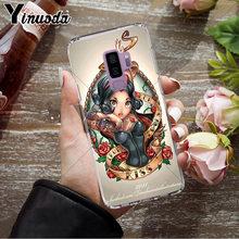 Yinuoda Tato Putri Alice Ariel Jasmine Ponsel Cover UNTUK Samsung S9 S9 Plus S5 S6 S6edge S6plus S7 S7edge S8 s8plus(China)