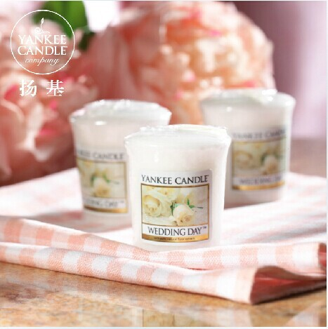 Yankee Candle fragrance oils aromatherapy scented candles perfume pillar candles candle wax valentines day gift(China (Mainland))