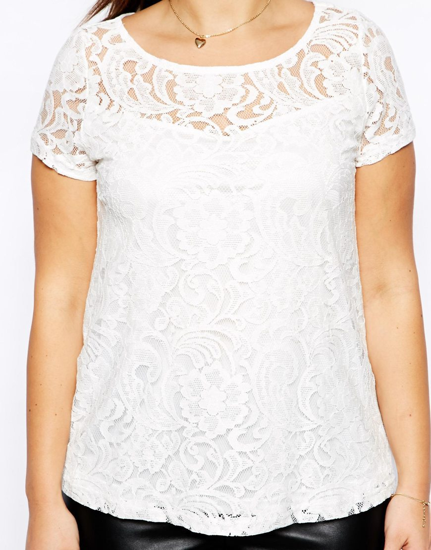 Plus size sexy womens lace t shirt with hollow out design for T shirt design wholesale