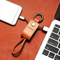 REMAX Leather Keychain USB Cable Fast Charging Data Sync For Android Micro Cable Micro usb For