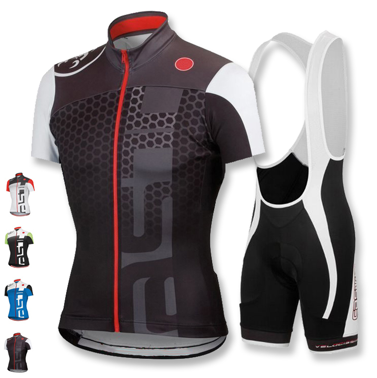 10 Style! Pro men Cycling Jerseys 2015 Ropa Ciclismo/Breathable Bicycle Cycling Clothing/Quick-Dry GEL Pad Bike Bib Shorts(China (Mainland))