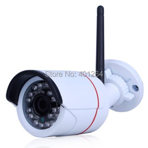 Фотография ONVIF H.264 Color P2P 1.0 Megapixel 720P Wireless CCTV Security Network Wifi IP Camera Out&Indoor