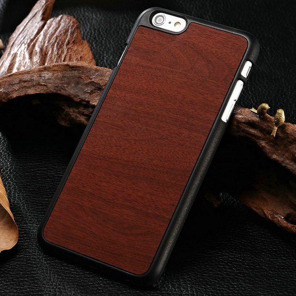 Здесь можно купить  100 pcs/lot Wooden Pattern Hard Case for iPhone 6 Plus 5.5 Inch PC Back Cover Plastic Protective Phone Bag Shell Wholesale DHL  Телефоны и Телекоммуникации