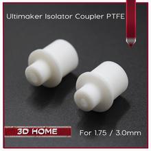 5 Stücke Ultimaker Hot End Isolator Koppler PTFE Teflon Innenhülse Für 1,75mm 3mm Filament Hoher Qualität Für 3D Drucker Teile(China (Mainland))