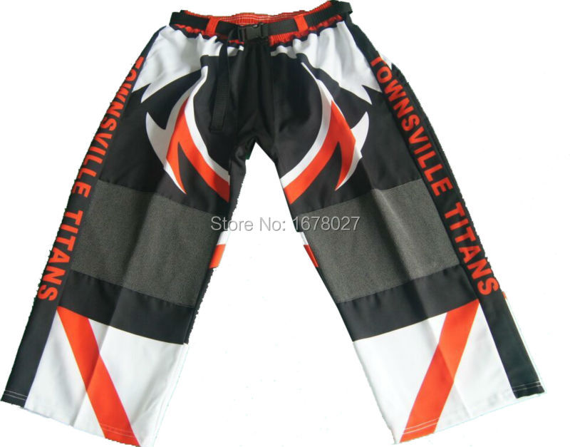 Custom Sublimated Ice Hockey Pant With Double Knee Cover(China (Mainland))