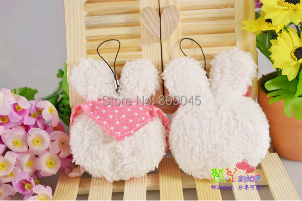 Gift Baby plush doll suffed toy min bag cell phone key chain for kids dolls stuffed toys cartoon animal doll 2pcs/lots PT36(China (Mainland))