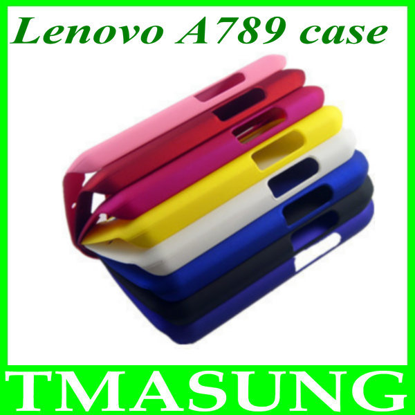 2014 Free shipping Lenovo A789 phone russian plastic hard Cover Case 2pcs/lot(China (Mainland))