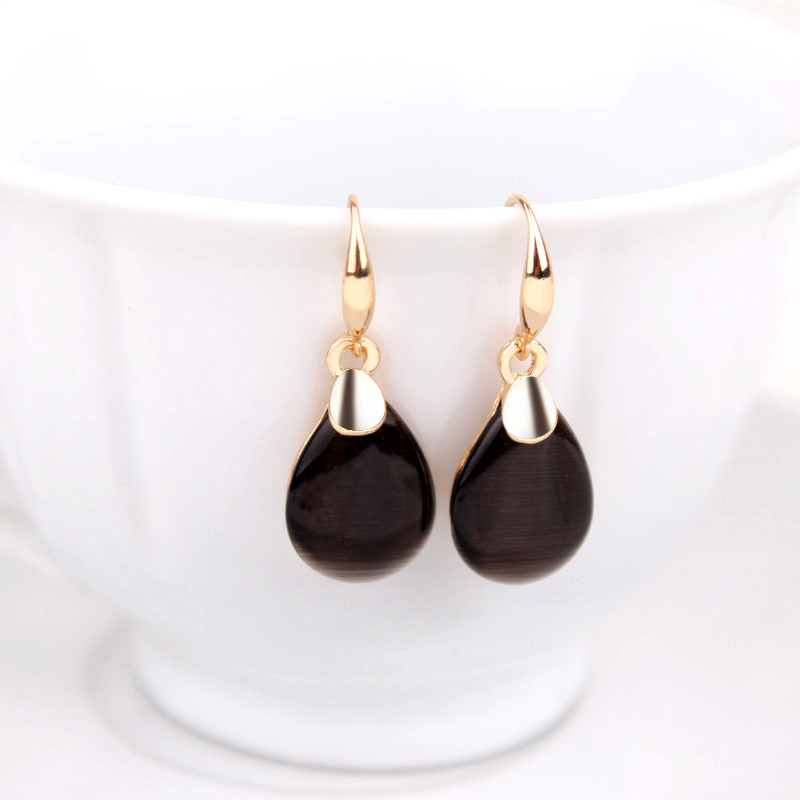 Cool E985 B Luxury Earring For Woman Indian Gold Earring 2015-in Drop Earrings From Jewelry On ...