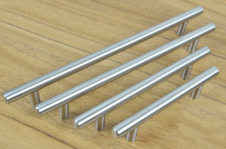 Cabinet Hardware Stainless Steel Bar Pull Handle and Knobs(C.C.:224mm L:350mm)(China (Mainland))