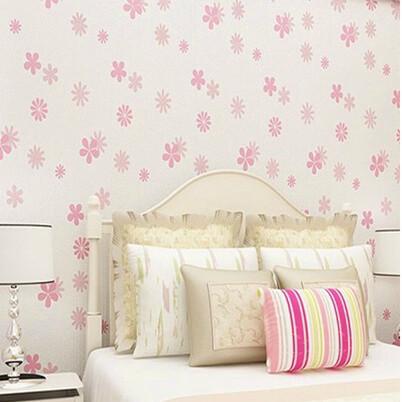 Online kopen wholesale roze groen behang uit china roze groen behang groothandel - Roze kleine kamer ...