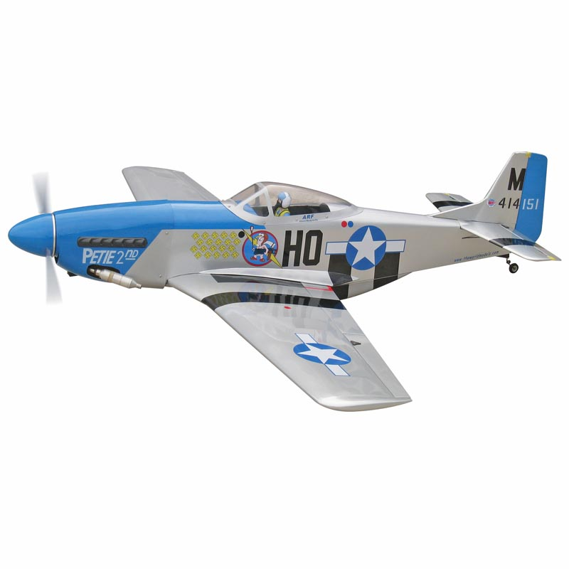RC Model plane / P-51 Mustang 60 with Electric Retracts / TWA155R(China (Mainland))