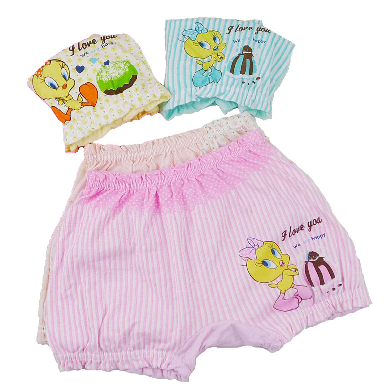 6pcs/lot Newborn Underwear 100%Cotton Baby Panties Boys And Girls Briefs Toddler Underwear Baby Shorts Infantil High Quality(China (Mainland))