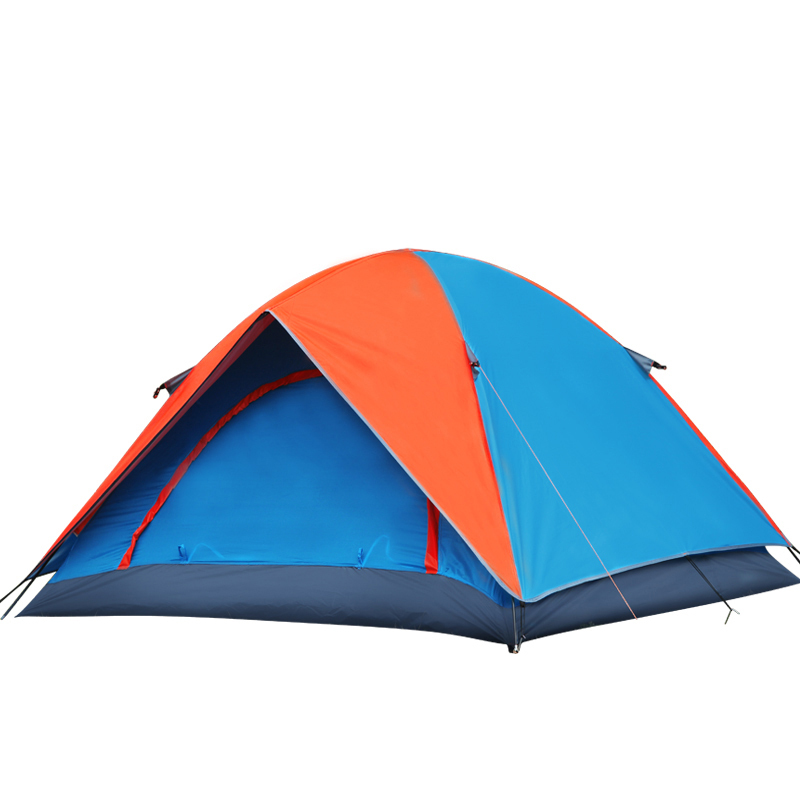 New 3 Season Outdoor Ultralight Double Layer Waterproof Fabric Camping Tent Tourist Naturehike Venture(China (Mainland))