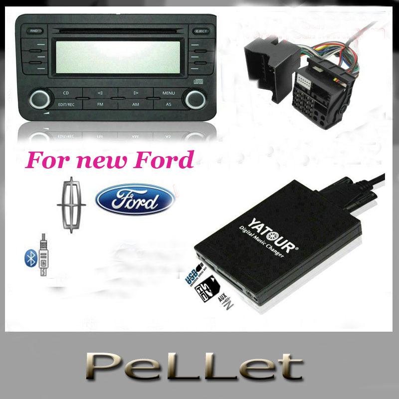 Digital Car CD Player USB SD AUX Bluetooth Changer