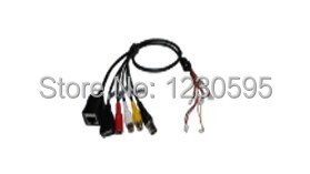POE Cable POE Adapter cable POE Splitter Injector kit RJ45 power DC BNC RCA USB alarming(I/O) 485 control(China (Mainland))