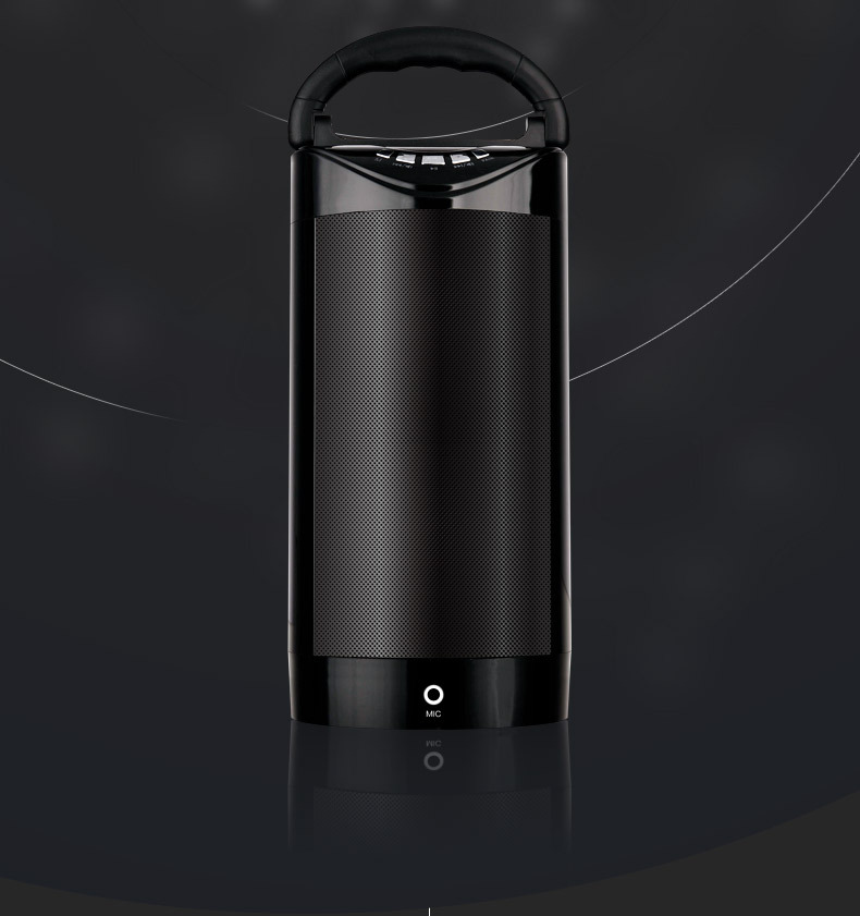 Amazing!Car audio Wireless bluetooth portable bass speaker subwoofer outdoor portable Music sound box Subwoofer Loudspeakers(China (Mainland))