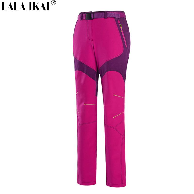 Softshell Women Pants Windproof Thermal Pants Women Pants For Hiking Camping Waterproof Women Pants Trekking Pants HWB0073
