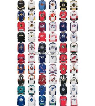 Custom Hockey Team Jerseys (S-4XL) - Customized Jersey With Any Number, Any Name Sewn On