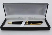 Мон с коробка шариковая ручка черный и золотой