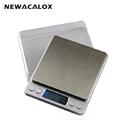 NEWACALOX 3000g x 0 1g Digital Pocket Scale 3kg 0 1 3000g 0 1 Jewelry Scales