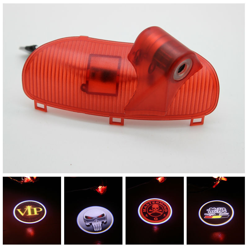 2X Original Replacement LED Car Door Warning Light Hyundai Elantra Wireless 3D Laser Projector Logo Lamp!Auto Modification - ke nipa car light store