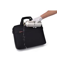 Airbag waterproof shoulder notebook bag 15.6 15 14 13.3 inch Brand casual fashion business men women Hand Messenger laptop bag(China (Mainland))