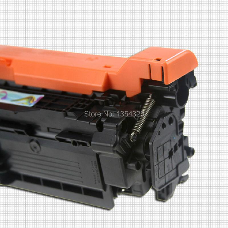 4PC Lot Compatible For HP LaserJet Enterprise Color MFP M775f toner cartridge For HP 651A CE340A