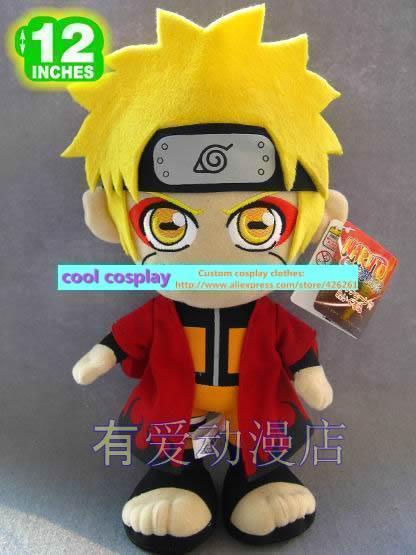 naruto Plush big eyes water gate plush doll dolls size 32cm*18cm muppets cute toy gift(China (Mainland))